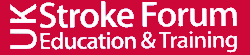 UK Stroke Forum Education and Training