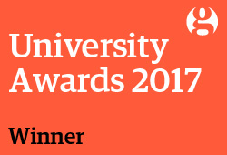 Guardian University Awards 2017 - Digital innovation